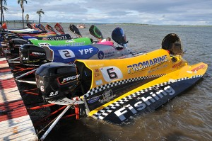 Largada F1 Power Boats