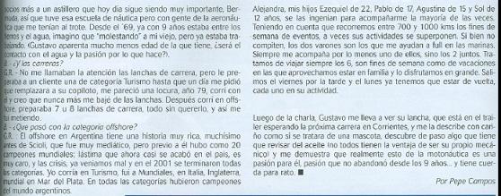 Una charla con Gustavo Ramirez